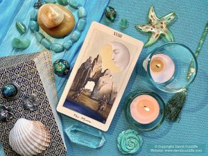 Tarot: The Moon card.