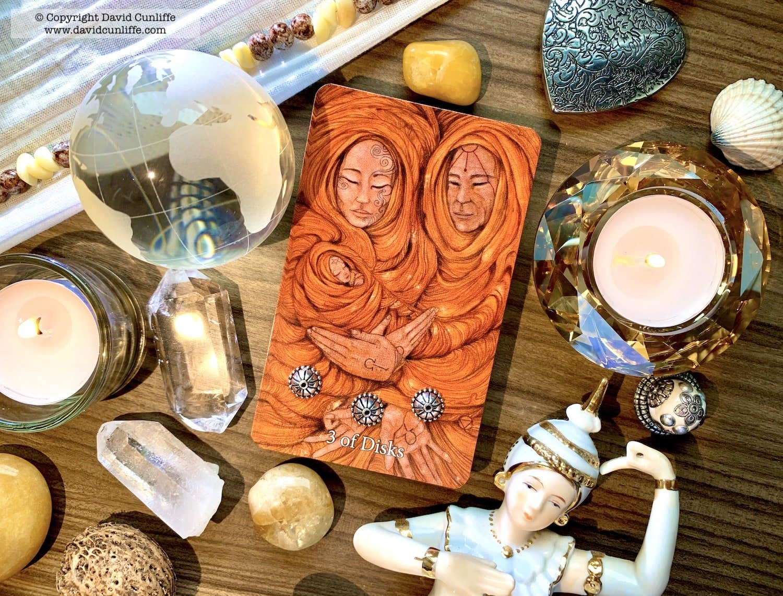 Tarot: Three of Pentacles