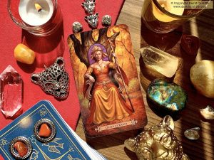 Tarot: Queen of Wands