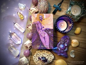 The World Card from Mary-El Tarot, the second edition by Marie White (author)