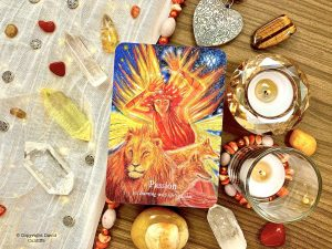 Oracle Deck: Goddess Dream Oracle - Burning with life's passion