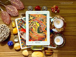 Tarot: The Tower Card - Thoth