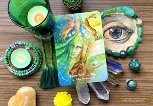 Oracle Deck: Goddess Dream Oracle - New-Beginnings