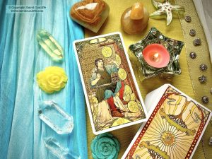Tarot: Eight of Pentacles
