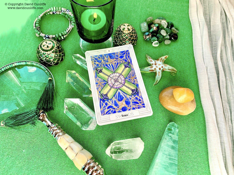 Tarot: Four of Swords