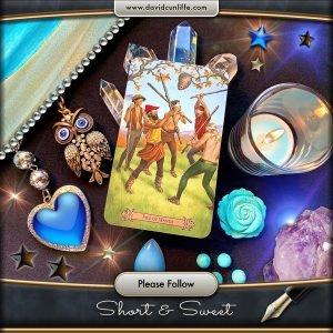 Tarot Card: Five of Wands