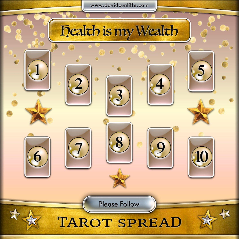 Health tarot card spread