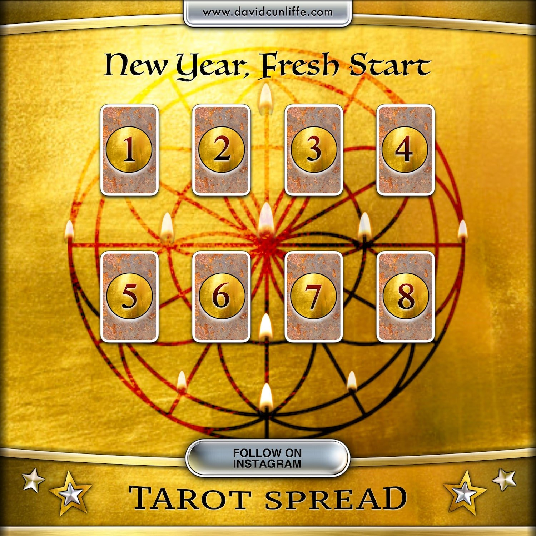 New Year Tarot Card Spread