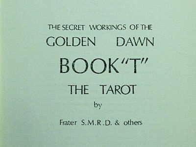 The secret workings of the Golden Dawn. Book
